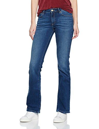 Wrangler Damen Bootcut Authentic Blue Jeans