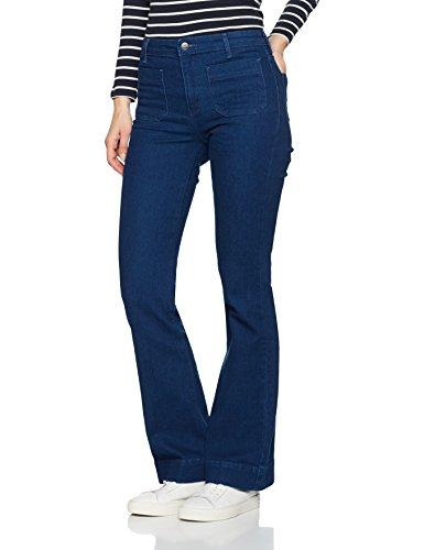 Wrangler Damen Flared Jeans Flare