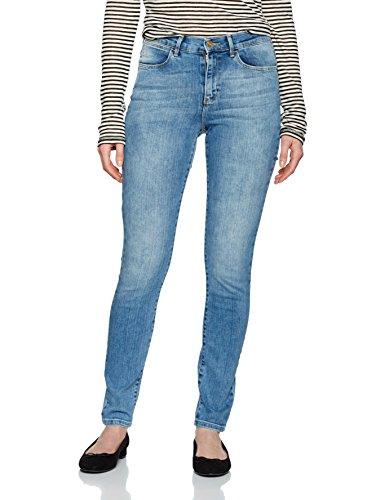 Wrangler Damen High Rise Skinny Best Blue Jeans