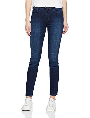Wrangler Damen High Rise Skinny Subtle Blue Jeans