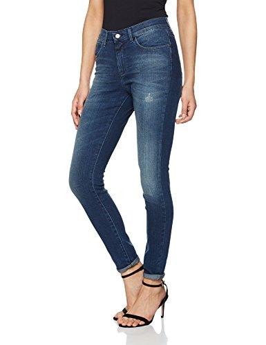 Wrangler Damen High Rise Skinny Vintage Blue Jeans