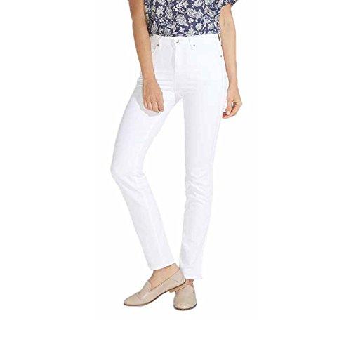 Wrangler Damen Jeans, Frauenjeans W27GYA26D High Rise Slim White
