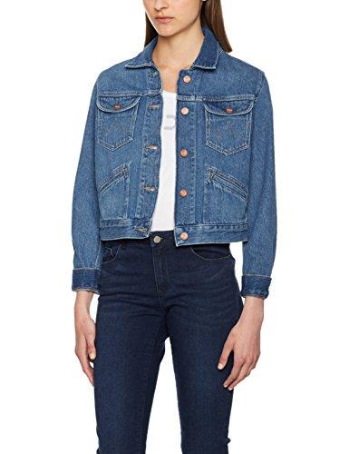 Wrangler Damen Jeansjacke Cropped Jacket
