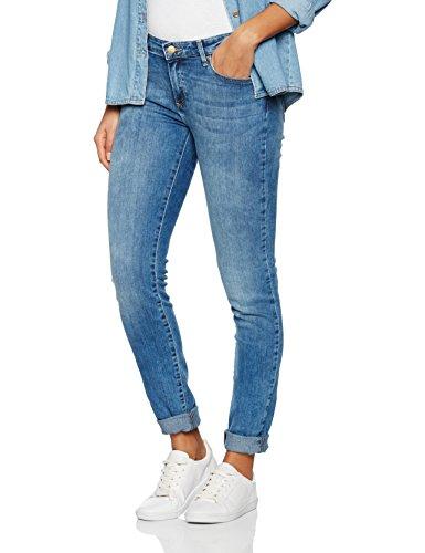 Wrangler Damen Skinny Best Blue Jeans