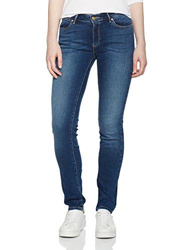 Wrangler Damen Slim Authentic Blue Jeans