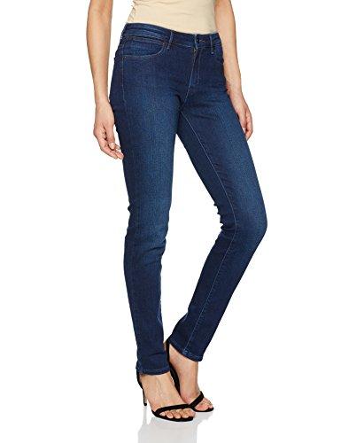 Wrangler Damen Slim Subtle Blue Jeans