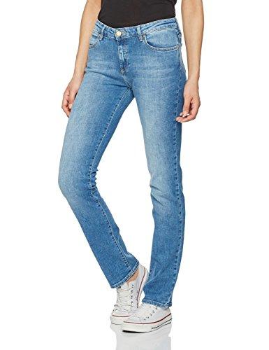 Wrangler Damen Straight Best Blue Jeans