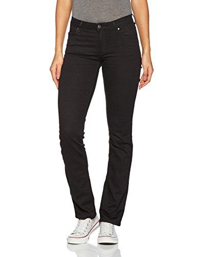 Wrangler Damen Straight Rinsewash Jeans
