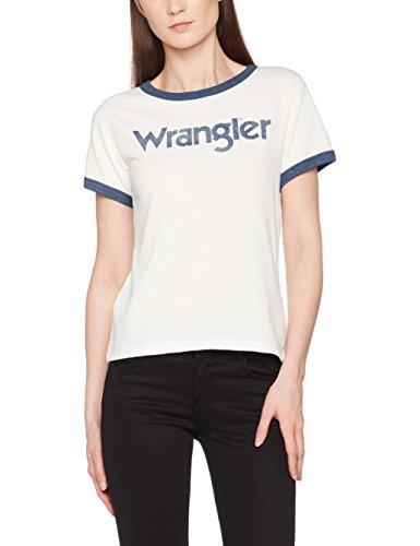 Wrangler Damen T-Shirt Retro Kabel Tee