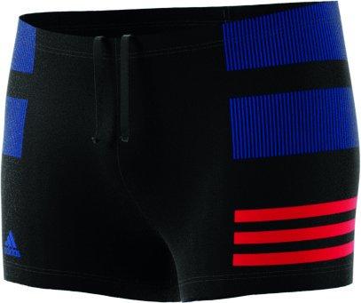 adidas Herren Infinitex Colourblock 3-Streifen Boxer-Badehose
