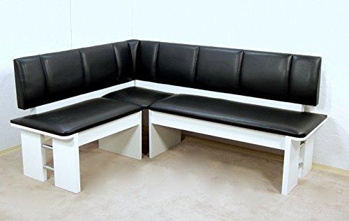 moderne Eckbank weiss Sitzecke Esszimmer Küche Melamin design hochwertig neu