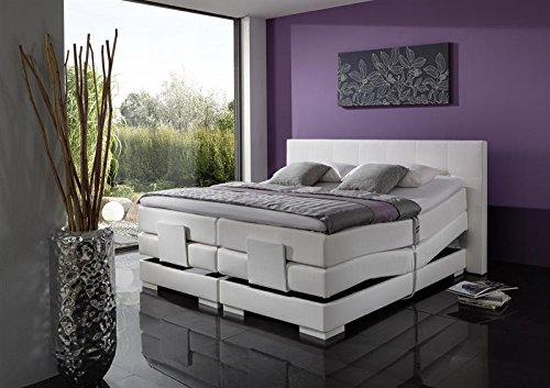 Breckle Boxspringbett 120 x 200 cm Oxford Box Elektro Inspiration Hollanda TFK Topper Gel Comfort