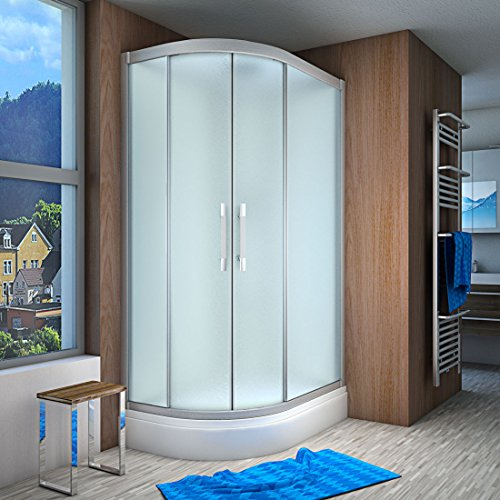 AcquaVapore QUICK18-7010L Dusche Duschtempel Komplette Duschkabine 120x80, EasyClean Versiegelung der Scheiben:Nein! +0.-EUR