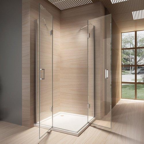 duschkabine duschabtrennung sicherheitsglas 8 mm eckeinstieg 90x90 ohne duschtasse m bel24. Black Bedroom Furniture Sets. Home Design Ideas