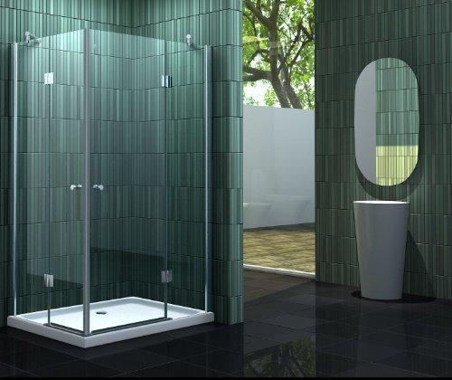 Duschkabine NEOTEC 100 x 90 cm ohne Duschtasse