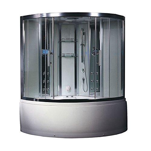 EAGO Dampfdusche DA324HF3 weiß/150x150