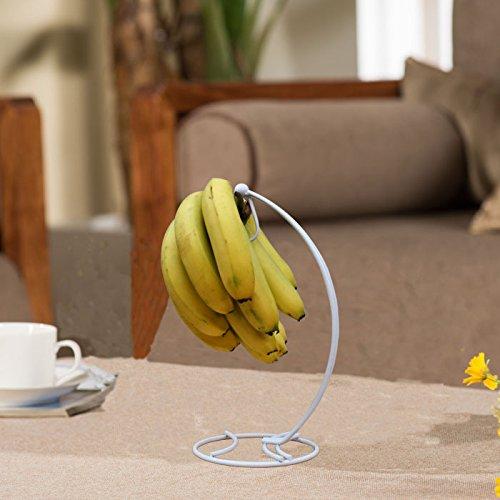 Europäische Banane Kleiderbügel Haken Haken Multifunktionale Küche Regal Rack Der Banane Obst, Weiß