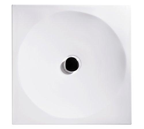 Ideal Standard Acrylbrausewanne Tonic, 90 x 90 x 4,5 cm, 1 Stück, weiß, 80124 9