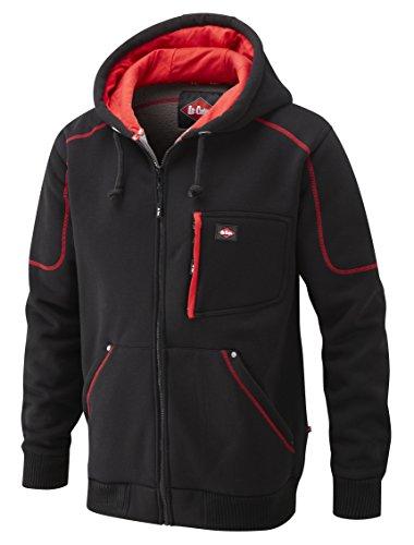Lee Cooper Workwear Fleece Hoodie, M, schwarz, LCSWT105