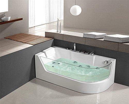 Luxus Whirlpool Badewanne Jacuzzi Wanne Whirlwanne Pool LXW-1533L links