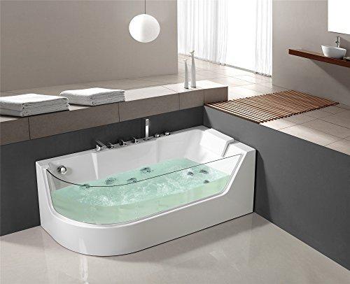 Luxus Whirlpool Badewanne Jacuzzi Wanne Whirlwanne Pool LXW-1533R