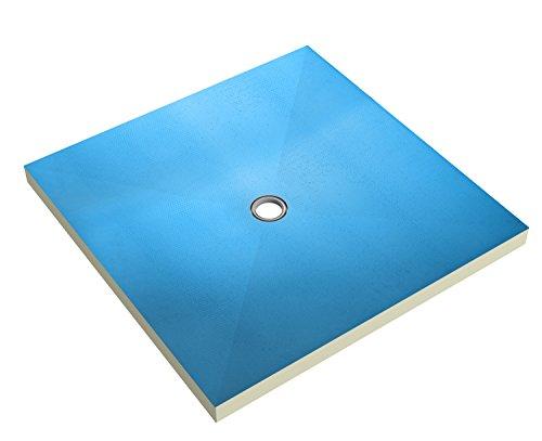 Ultrament Duschboard Punktablauf, 900 x 900 x 40mm