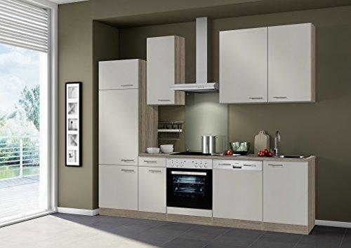 idealShopping Küchenblock mit Elektrogeräten Arta in sahara 270 cm breit