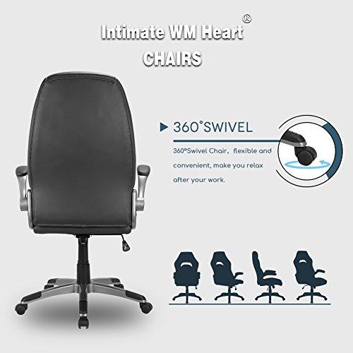 intimate wm heart gaming stuhl racing hoch r cken schreibtischstuhl pu kunstleder high back. Black Bedroom Furniture Sets. Home Design Ideas