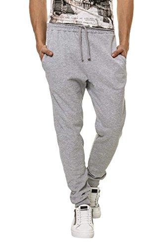 Hachiro Herren Trainingshose Sweat Pants Freizeithose (M, Light Grey)