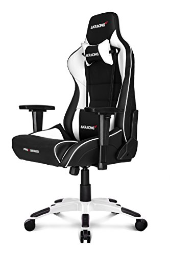 AK Racing ProX Gaming Stuhl Weiß