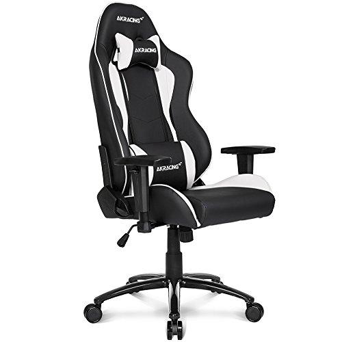 Akracing Gaming Stuhl NITRO weiß/schwarz