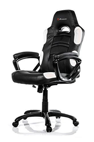 Arozzi Gaming Stuhl ENZO schwarz/weiß