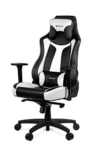 Arozzi Gaming Stuhl VERNAZZA schwarz/weiß