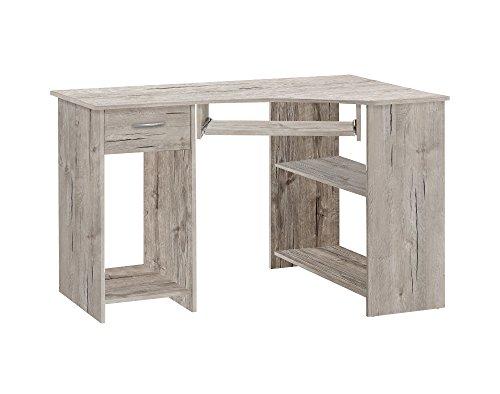 FMD Möbel Felix 1 Computertisch, Holz, sandeiche, 118 x 77 x 76 cm