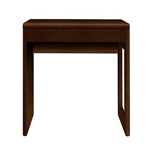 Furniture 247 Computertisch im modernen Stil für das Heimbüro - Schwarze Eiche (Black Oak)