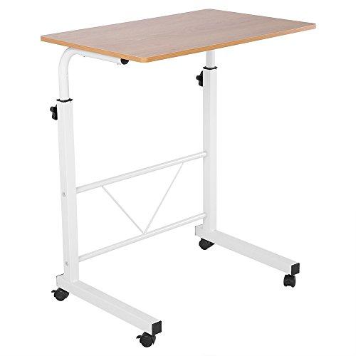 Greensen Laptop Tisch Computertisch Einstellbare Schreibtisch Pflegetisch Beistelltisch (Gelb)