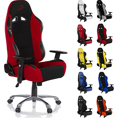 racemaster racing b rostuhl rs series gaming stuhl verschiedene farben stoff oder. Black Bedroom Furniture Sets. Home Design Ideas