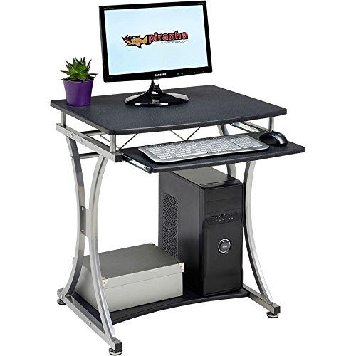 echtem Piranha Minnow Kompakter Computertisch W Tastatur Regal Home Office pc11g