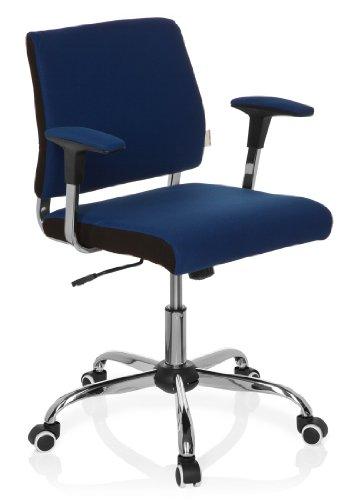 hjh OFFICE 719110 Büro-/Dreh Stuhl, Avida, blau