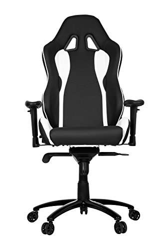 hjh OFFICE 727000 WINGMAN I  Gaming Stuhl Kunstleder schwarz / weiß