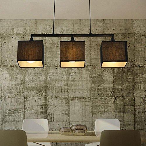 creative 3 flammig pendelleuchte schwarz metall. Black Bedroom Furniture Sets. Home Design Ideas