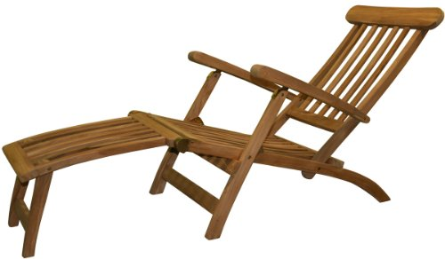 deckchair aus massiv teak holz klappbar 9715 m bel24. Black Bedroom Furniture Sets. Home Design Ideas