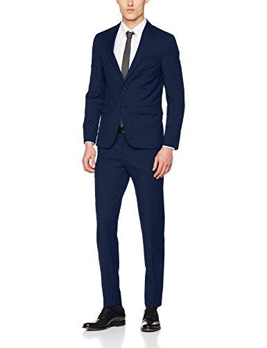 Tommy Hilfiger Tailored Herren Anzug Mik-Hmt STSSLD18110, Blau (420), 50