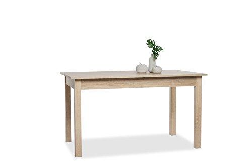 001283 Coburg Eiche Sägerau Nb. 120 x 70 cm Tisch Esszimmertisch Küchentisch ...
