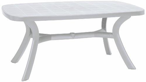 BEST 18519200 Tisch Kansas oval 192 x 105 cm, weiß