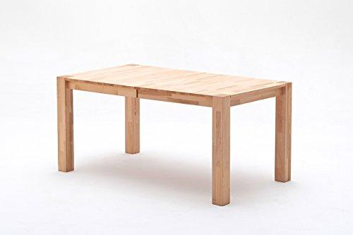 Esstisch, Esszimmertisch, Küchentisch, Tisch, Massivholztisch, ausziehbar, Ausziehtisch, Kernbuche, Buche, Mittelauszug, rechteckig
