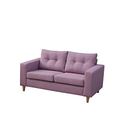 Mirjan24  Sofa Micro 2 Sofagarnitur Couchgarnitur Zweisitzer Modern Couch Feiner Webstoff Wohnlandschaft (Lux 28)