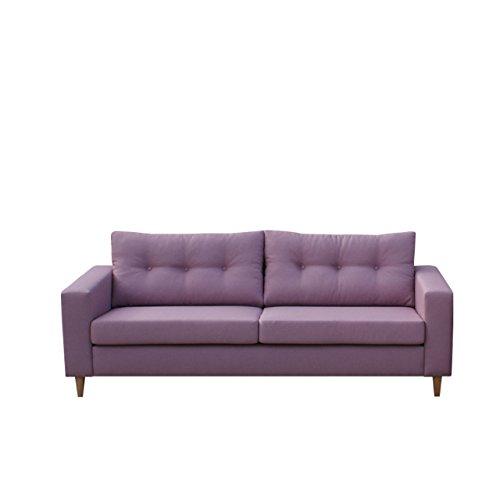 Mirjan24  Sofa Micro 3 Couchgarnitur Sofagarnitur 3-Sitzer Modern Couch Feiner Webstoff Wohnlandschaft (Lux 28)