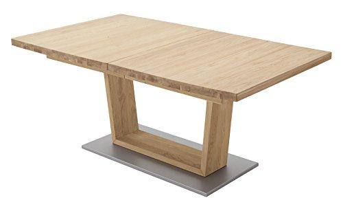 Robas Lund, Tisch, Esszimmertisch, Cantania A, teilmassiv Wildeiche, 180 x 100 x 77 cm, CAN18AWE