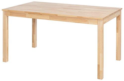 Robas Lund, Tisch, Esszimmertisch, Sergio, Kernbuche/Massivholz, 80 x 120 x 76 cm, SEF120KB